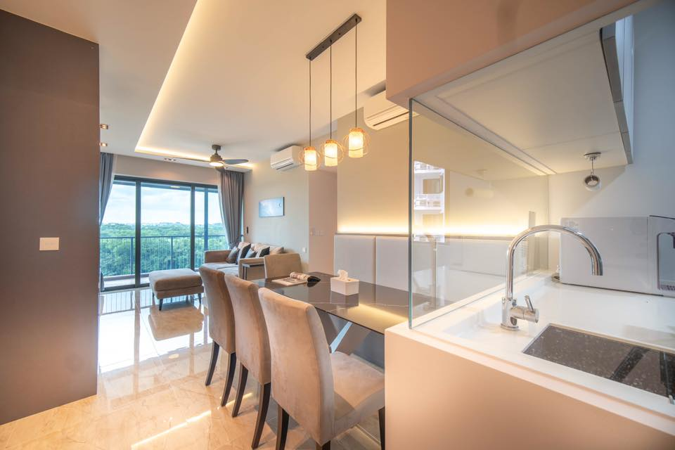 Kingsford Waterbay Interior by Designer Jeny Hsiao + Max Teh