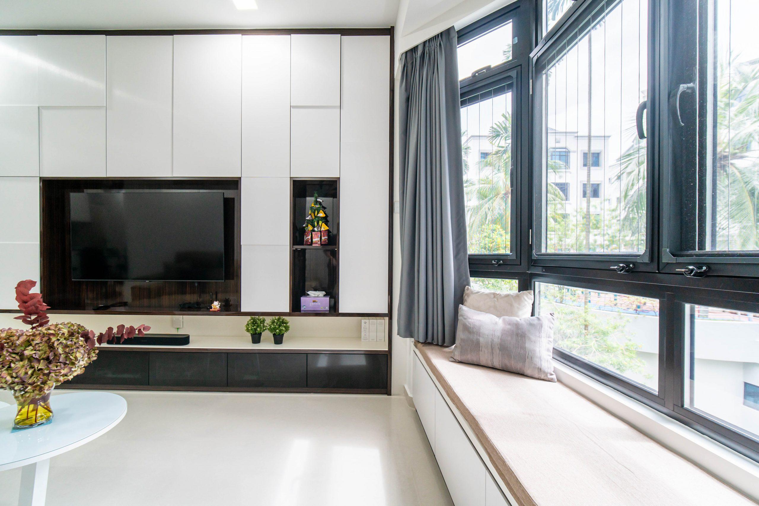Euro Asia Park Condominium Smart Home Design by Designer Shawn Haw + Grace Mao Yi