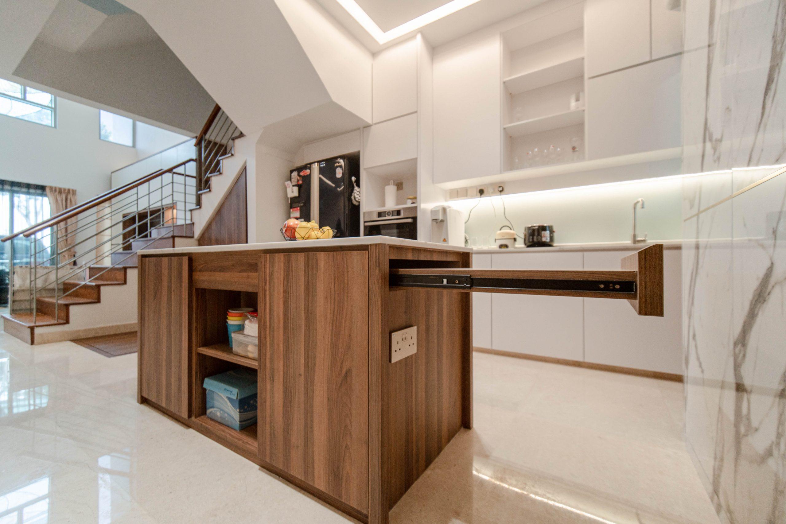 Designer Shawn Haw+Jeff Tan: Kovan Landed House Interior in Singapore