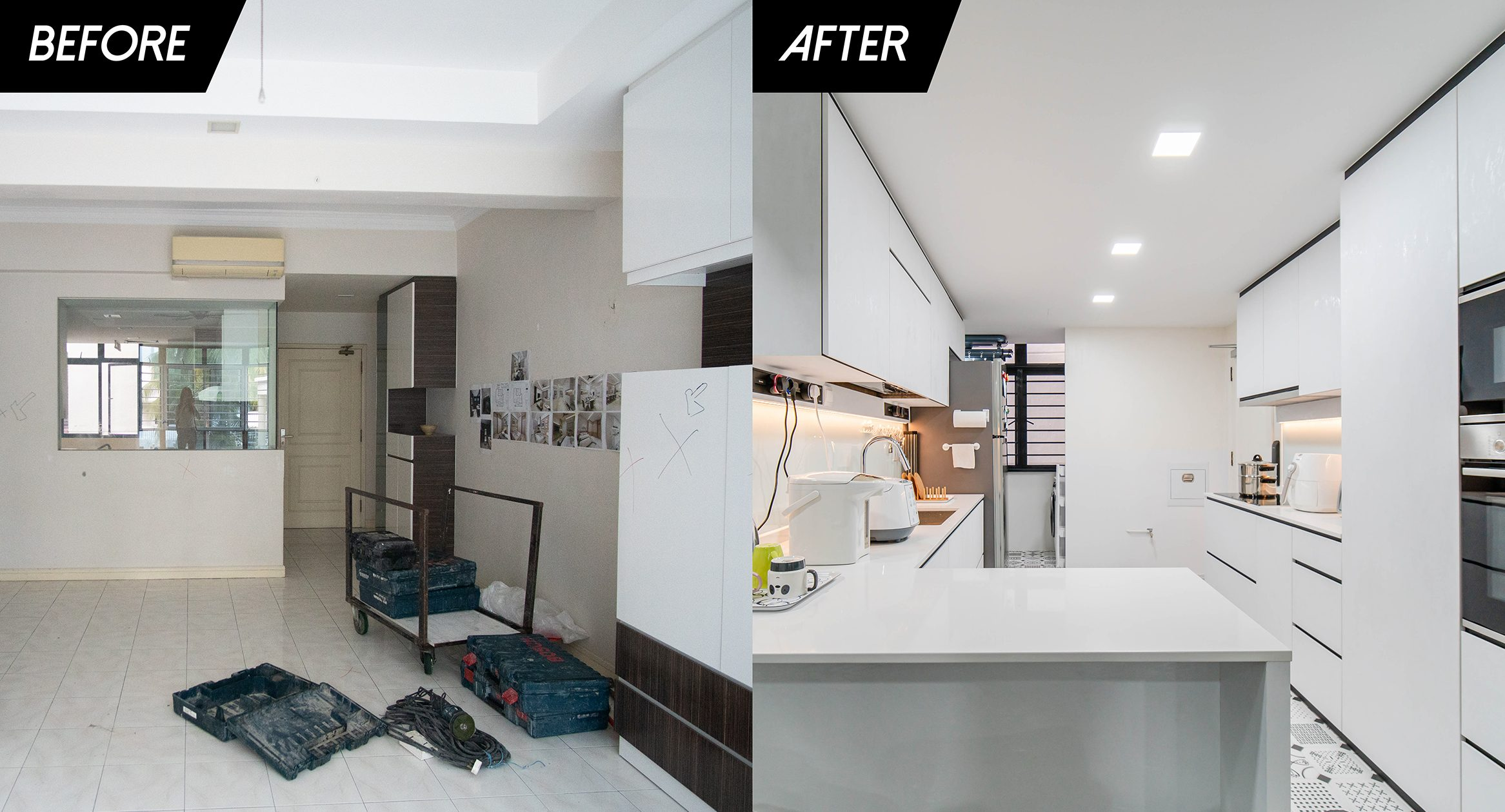 Interior Renovations: Before and After from Plain to Perfect