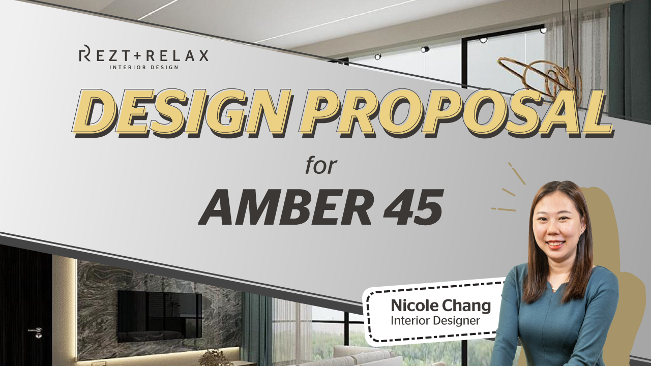 Amber 45 Condominium Interior Design in Singapore