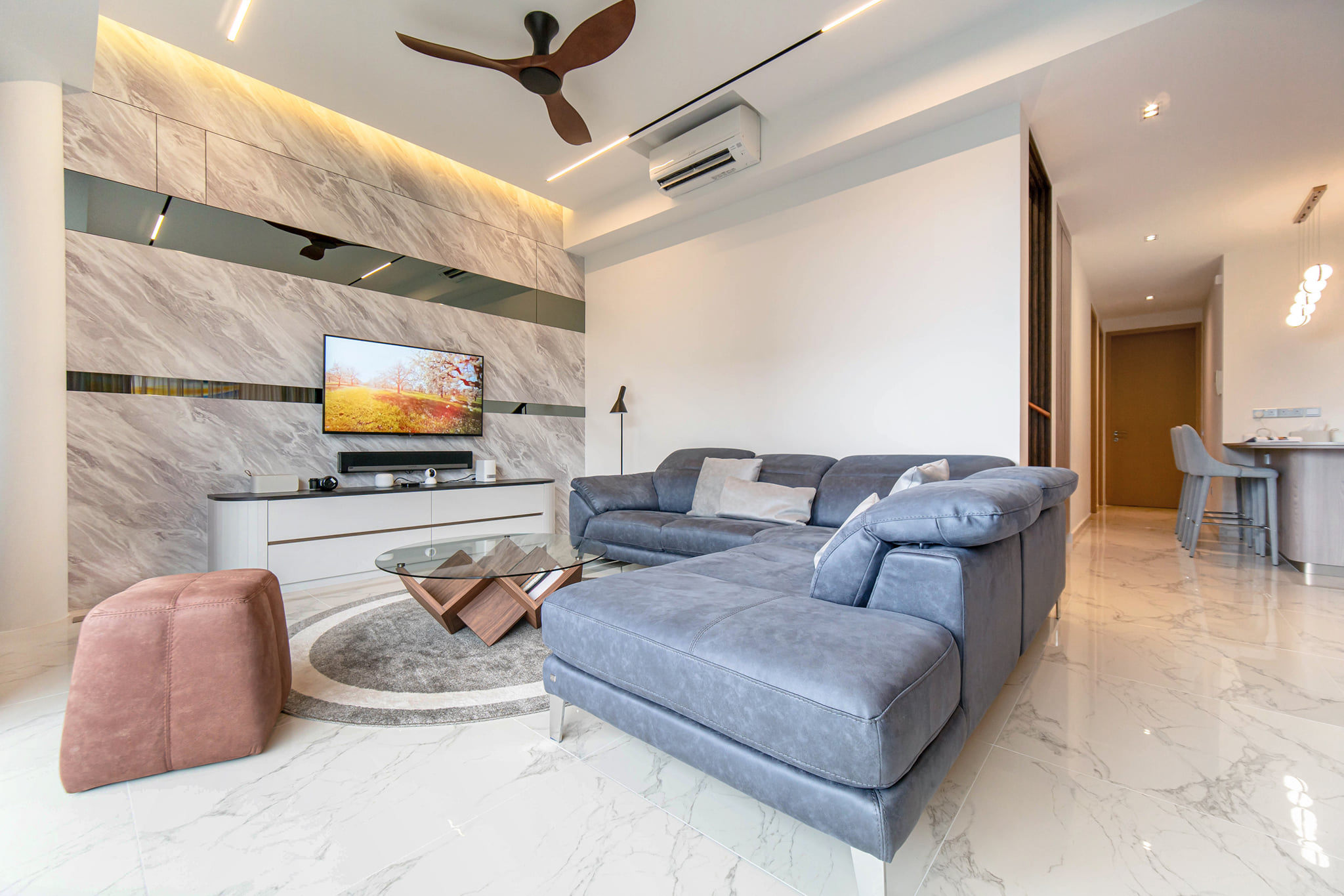 Designed by Tony Poh+Cathryn Ling: Singapore Penthouse at Breeze by the East