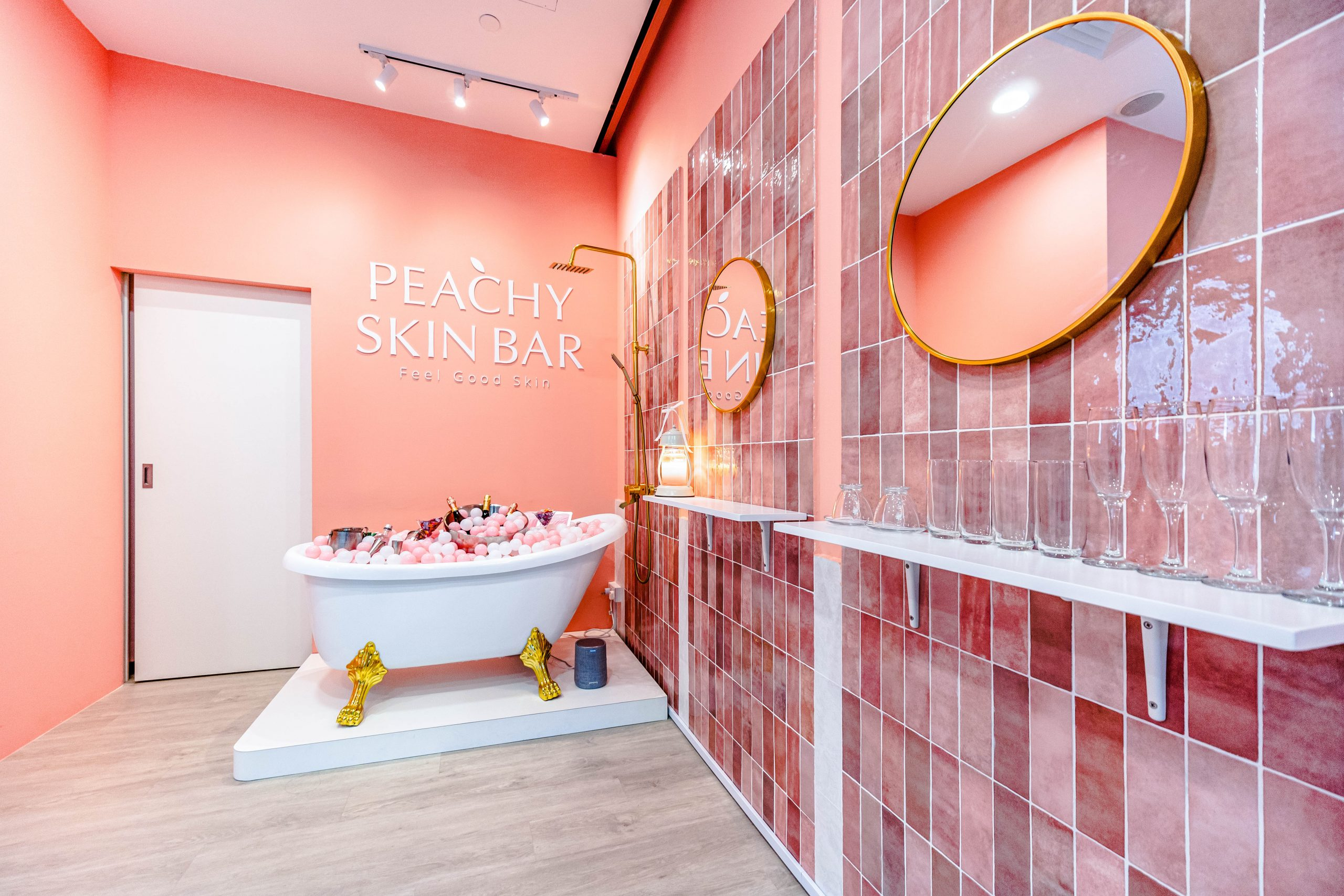 Peachy Skin Bar 2nd Outlet Designed by Lucas Ong