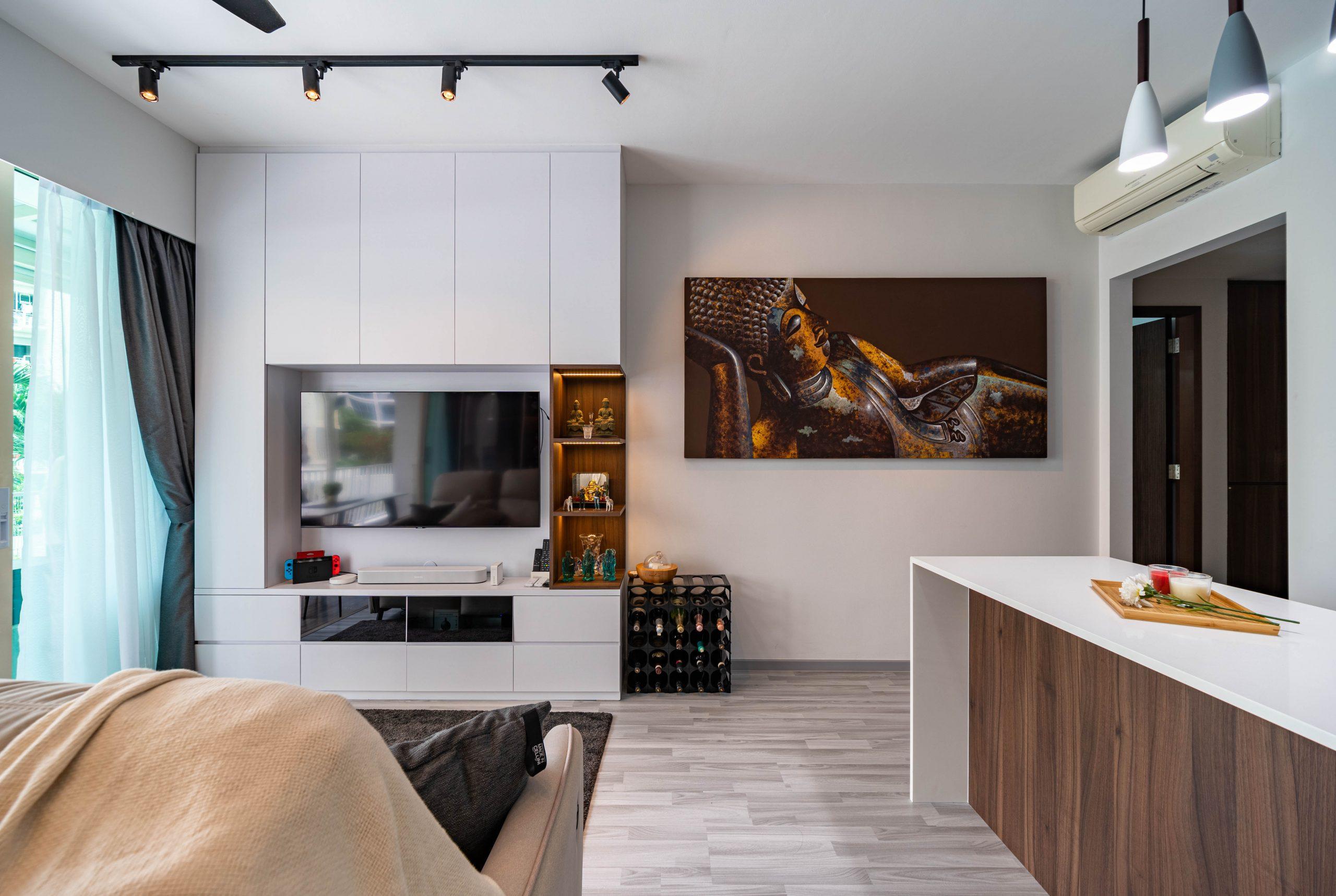 Watercolours Executive Condominium Interior by Designer Stuart Yee
