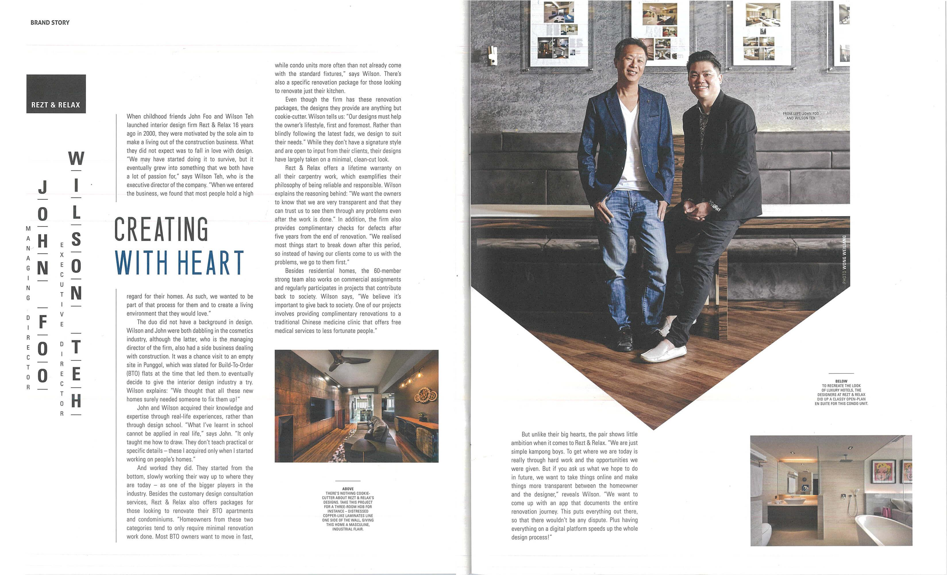Brand Story Interview on Square Rooms magazine