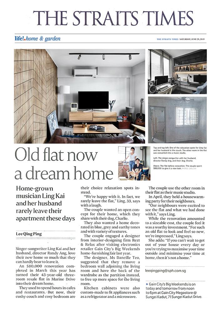 The Straits Times newspaper